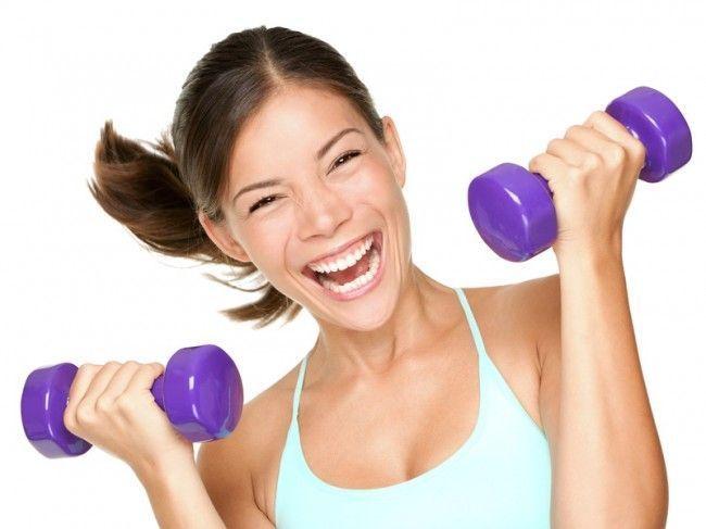 ejercicio con mancuernas
