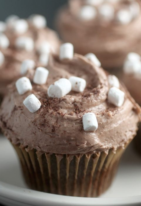 """"""" estos cupcakes de chocolate"""""""