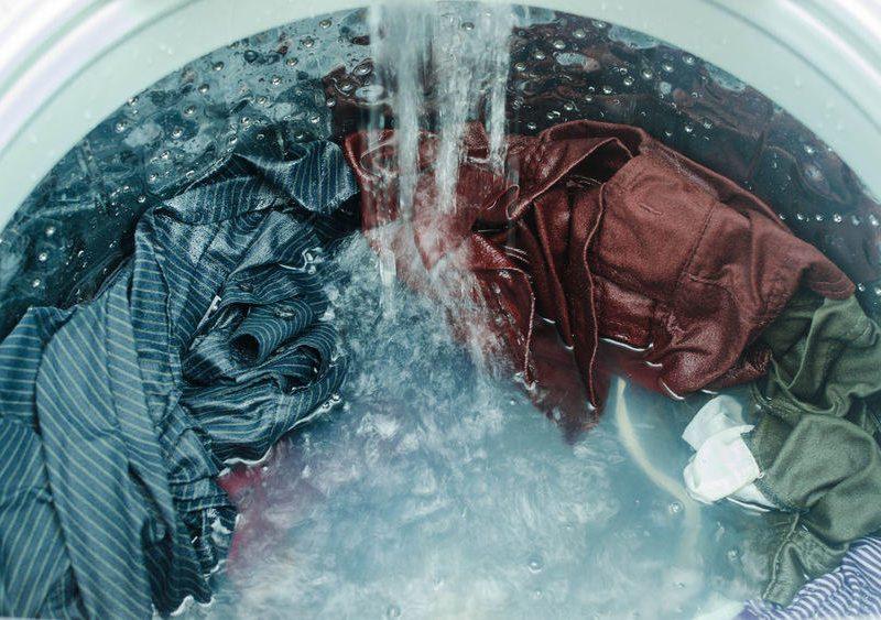 Temperatura del agua al lavar ropa