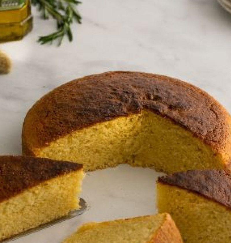 """""""pastel con aceite de oliva"""