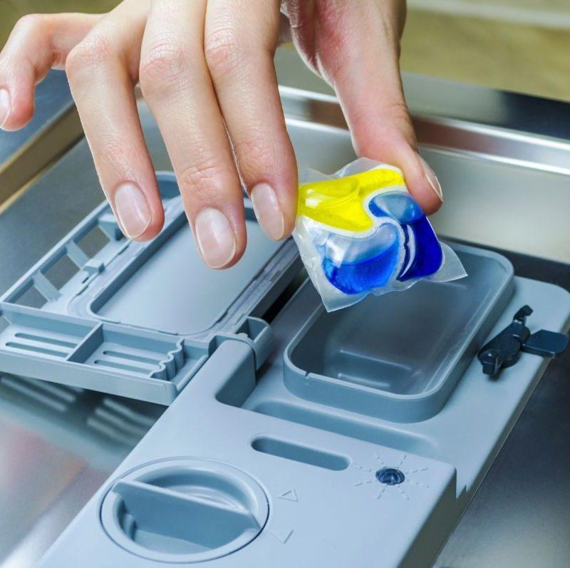 Cómo usar correctamente los detergentes en cápsulas